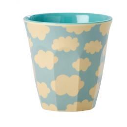 Rice - Kids Melamine Cup - Cloud Print