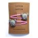 lottie nottie - MICE - Pink Hair Clips