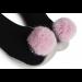 Collegien Slippers - Pompom Rose