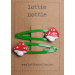 lottie nottie - Toadstool on Green Clips