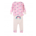 Hatley Pyjamas | Unicorns & Rainbows | Organic Cotton