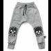 nununu | Robot Patch Baggy Pants | Heather Grey