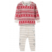 Hatley Pyjamas | Fair Isle Fawn PJs | Organic Cotton