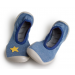Collegien | Ballerina Slippers | Blue Jeans with Star