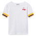 bobo choses | cherry | short sleeve t-shirt | front view