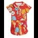 mini rodini | seahorse summersuit | red