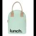FLUF MINT Lunch Bag with Zipper
