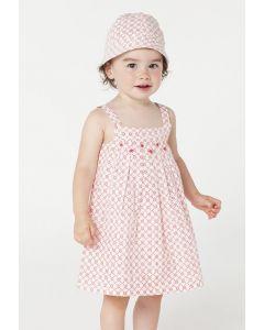 Purebaby - Girls Woven Hat - 100% ORGANIC