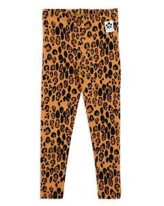Mini Rodini Leopard Leggings | Organic Cotton
