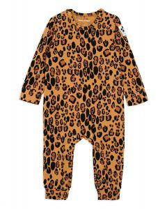 Mini Rodini Leopard Jumpsuit | Organic Cotton