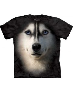 Mountain Big Face Tee - Siberian Dog