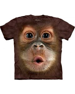Mountain | Big Face Tee | Baby Orangutan