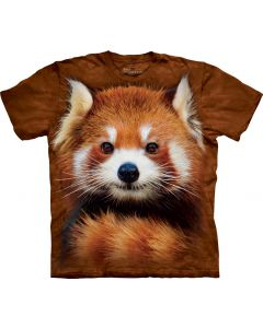 The Mountain | Red Panda | Big Face Tee
