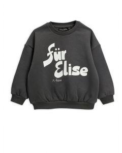 Mini Rodini | Fur Elise Sweatshirt in Grey