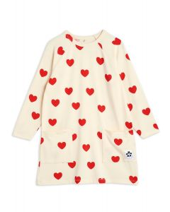 Mini Rodini | Hearts Long Sleeve Dress