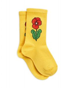 Mini Rodini | Viola Socks in Yellow