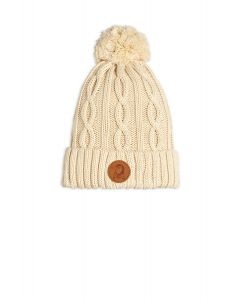 Mini Rodini | Cable Knitted Pompom Hat