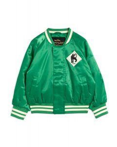 Mini Rodini Green Baseball Jacket | Panther