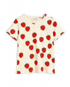 Mini Rodini   Strawberry T-Shirt   Organic Cotton