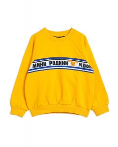 Mini Rodini | Moscow Sweatshirt | Yellow