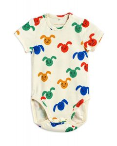 Mini Rodini | Rabbits Short Sleeve Body