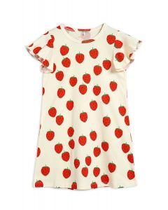 Mini Rodini | Strawberry Wing Dress | Organic Cotton