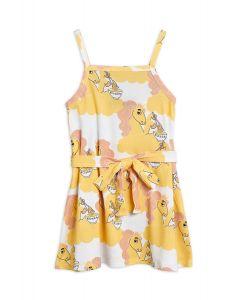 Mini Rodini | Unicorn Noodles  Tank Dress | Yellow