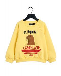 Mini Rodini Walrus Sweatshirt | Yellow