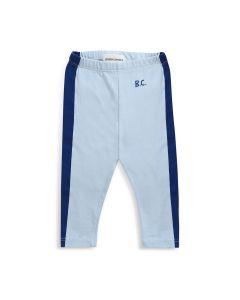 Bobo Choses | Blue Stripes Organic Cotton Leggings