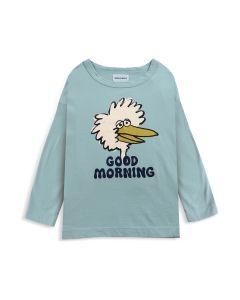 Bobo Choses | Good Morning Birdie | Organic Long Sleeve Tee | SKiN&BLiSS