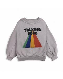 Bobo Choses | Talking Bobo Rainbow | Organic Sweatshirt