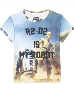 Little Eleven Paris - R2 D2 is MY ROBOT - Short Sleeve Tee