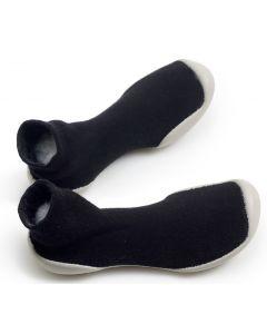 Collegien Slippers | Noir Charbon