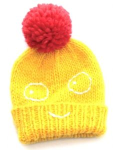 indikidual - Boris Yellow Bobble Hat