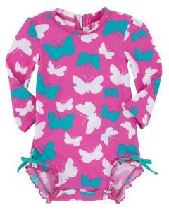Hatley Swimwear - Infant Rash Guard - Butterflies