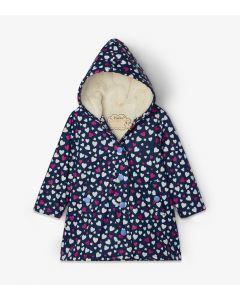 Hatley Girls Raincoat | Confetti Hearts