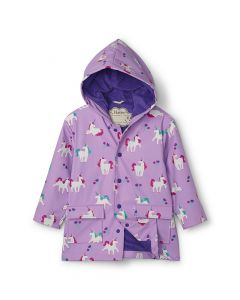Hatley Girls Raincoat | Playful Unicorns