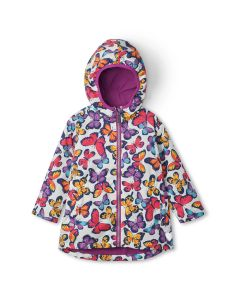 Hatley Microfleece Jacket | Kaleidoscope Butterflies