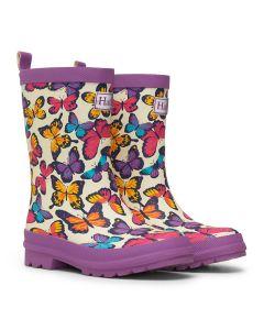 Hatley Wellington Boots | Kaleidoscope Butterflies