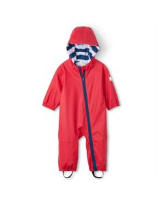 Hatley Terry Lined Baby Bundler | Red