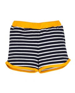 l'asticot - baby shorts - navy stripes