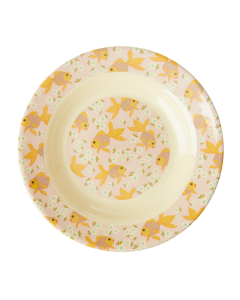 Rice Melamine Kids Bowl | Goldfish