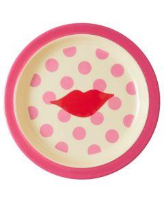 Rice Melamine Kids Lunch Plate   KISS Print