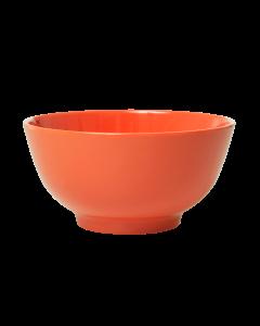 Rice Melamine Medium Bowl | Burnt Orange