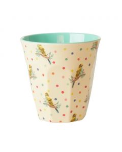 Rice Melamine Cup | Budgie