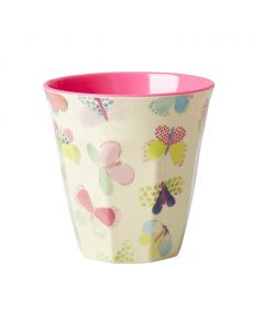 Rice Melamine Cup | Butterfly
