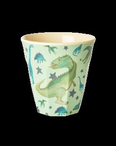 Rice Melamine Cup | Dino