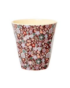 Rice Melamine Cup | Floral Fall Print