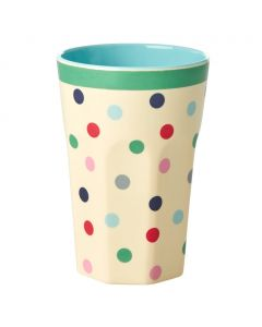 Rice TALL Melamine Cup | Believe in Red Lipstick