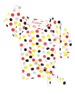 nadadelazos - Girls Dress - Watercolour Dots